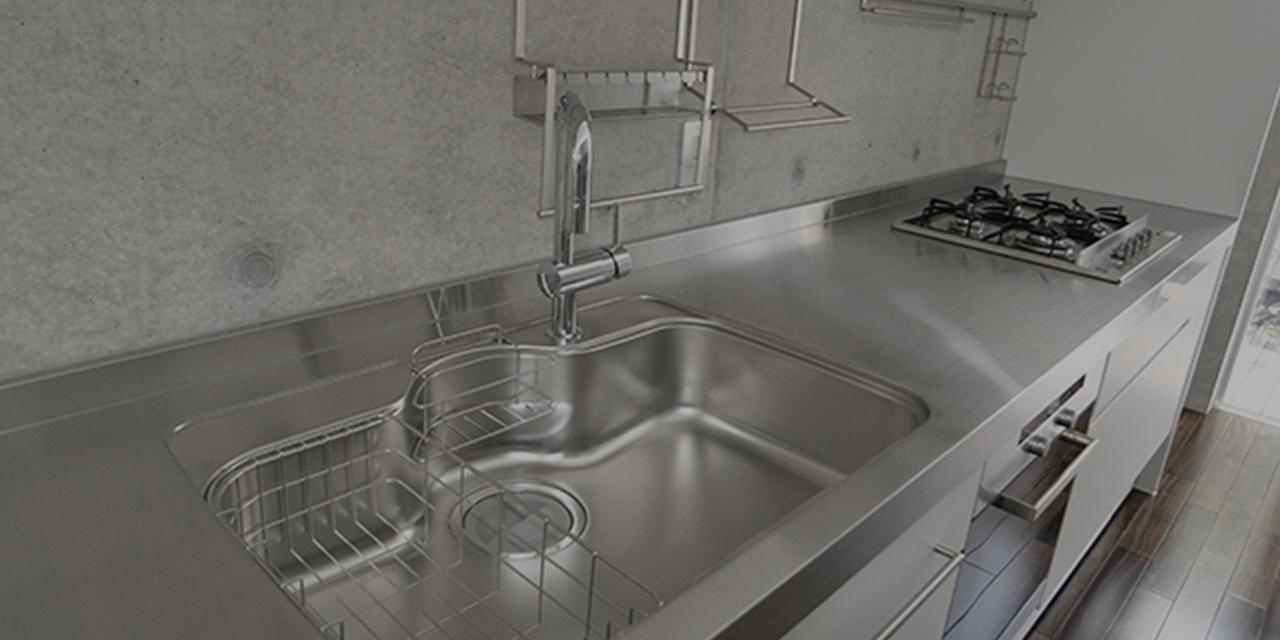Ⅰ type kitchen Ⅰ型キッチン