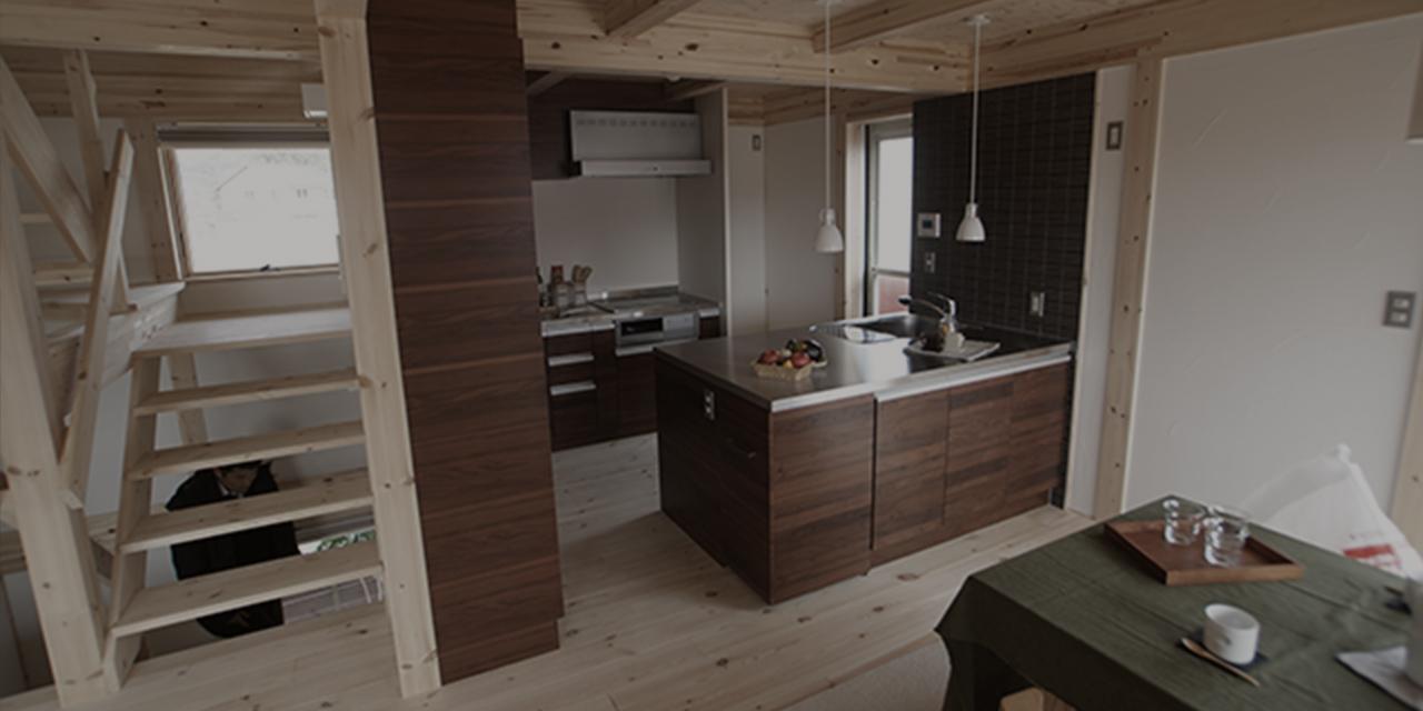 Ⅱ type kitchen Ⅱ型キッチン